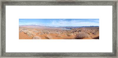 Dune Framed Print by Anthony Haight