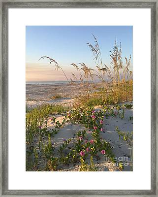 Dune Bliss Framed Print