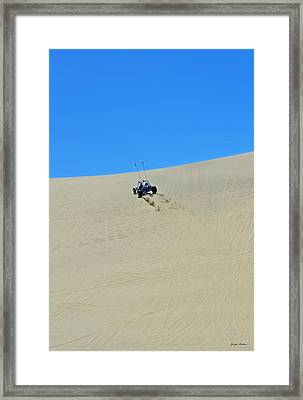 Dune Buggy 003 Framed Print by George Bostian