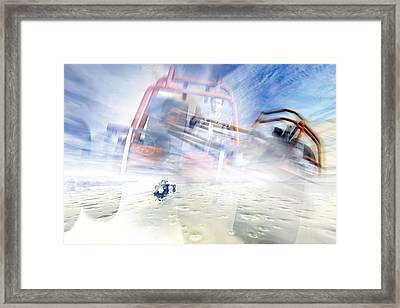 Dune Buggy Adventure Framed Print