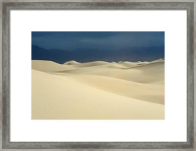 Dune Framed Print by Catherine Lau