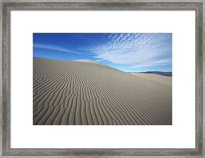 Dune Framed Print by David Andersen