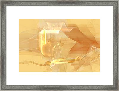Dune Framed Print by Emma Alvarez