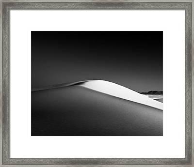 Dune Framed Print by Joseph Smith