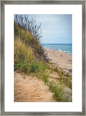 Framed Print featuring the photograph Dune by Kendall McKernon