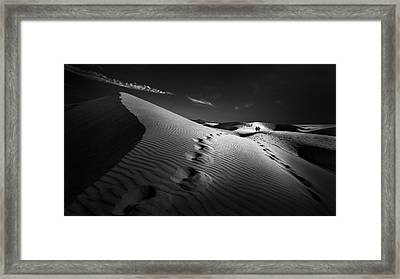 Dune Path Framed Print by Kerstin Arnemann
