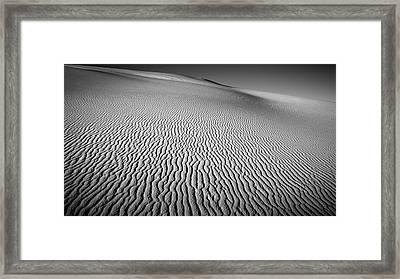 Dune Patterns Framed Print by Joseph Smith