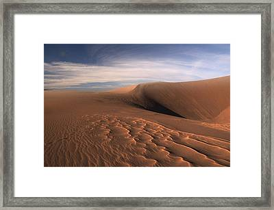 Framed Print featuring the photograph Dune Pleasures by Al Swasey