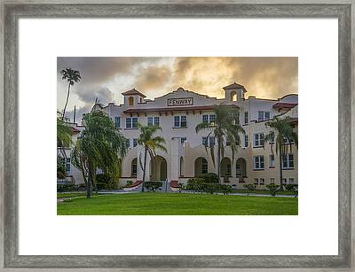 Dunedin Florida - The Fenway Framed Print by Bill Cannon