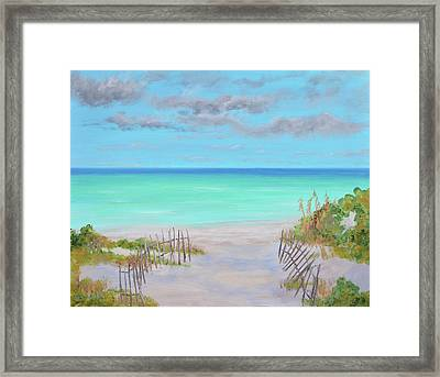 Dunes Beach Framed Print
