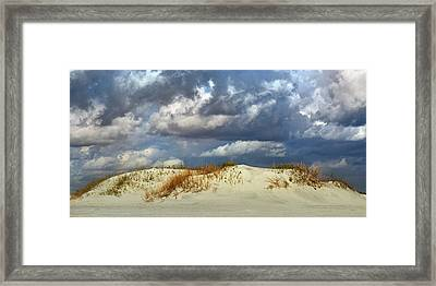 Dunes Day  Framed Print