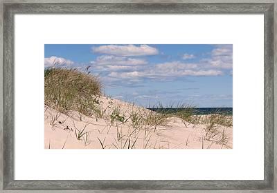 Dunes Of White Horse Beach Framed Print