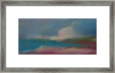 Dunes On The Horizon Framed Print