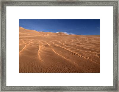 Framed Print featuring the photograph Dunes Reward.. by Al Swasey