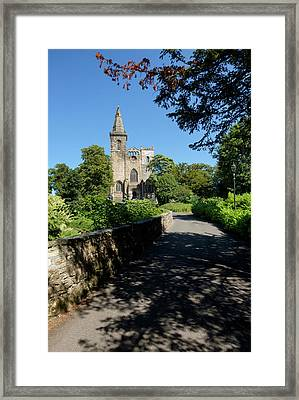 Framed Print featuring the photograph Dunfermline Abbey by Jeremy Lavender Photography