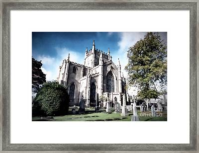 Framed Print featuring the photograph Dunfermline by Anthony Baatz