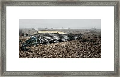 Dungeness Decay Framed Print by Huet Bartels
