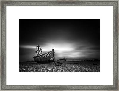 Dungeness Framed Print by Ian Hufton