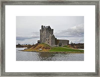 Dunguaire Castle Framed Print by Martina Fagan