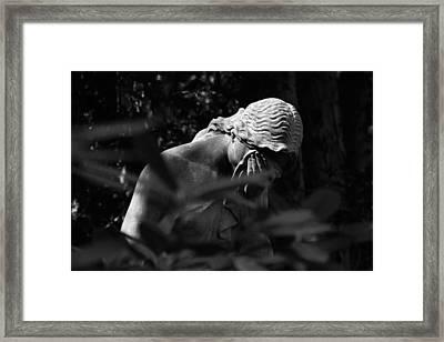 Dunkelheit - Darkness Framed Print