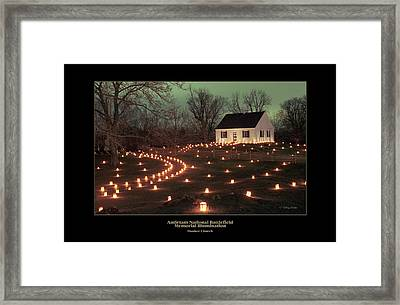 Dunker Church 07 Framed Print by Judi Quelland