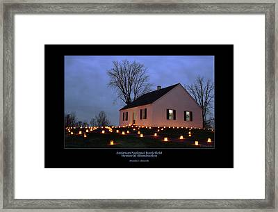 Dunker Church 94 Framed Print by Judi Quelland