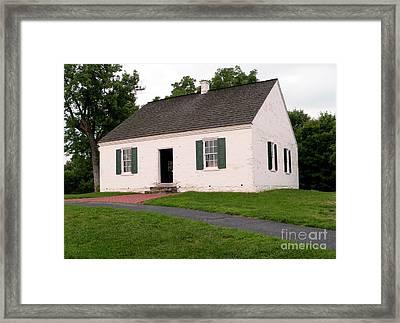 Dunker Church Framed Print by David Bearden