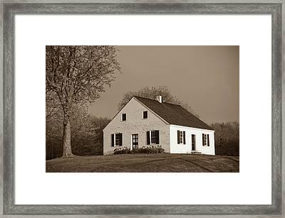 Dunker Church Framed Print by James Oppenheim