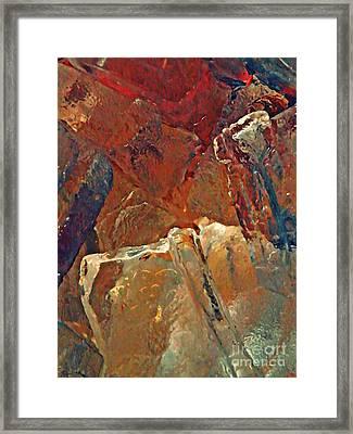 Dunkin Ice Coffee 18 Framed Print by Sarah Loft