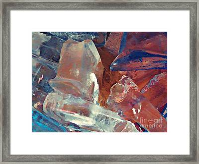 Dunkin Ice Coffee 22 Framed Print by Sarah Loft