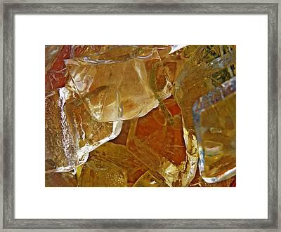 Dunkin Ice Coffee 7 Framed Print by Sarah Loft