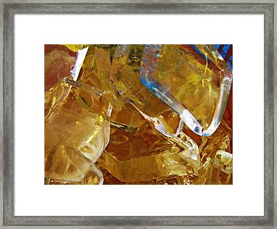 Dunkin Ice Coffee 8 Framed Print by Sarah Loft