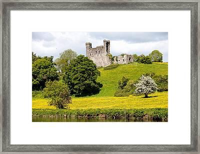 Dunmoe Castle Framed Print by Peter McCabe