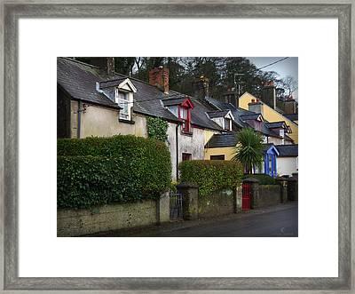 Dunmore Houses Framed Print