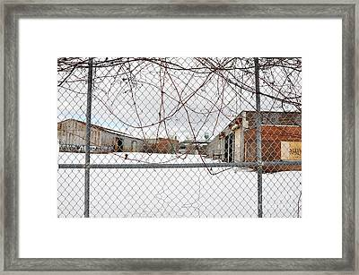 Dunn Street Property Framed Print by Reb Frost