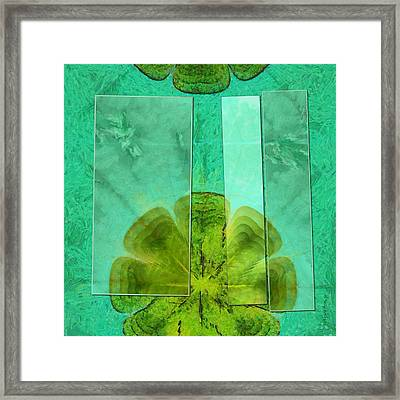 Dunne Mental Picture Flower  Id 16164-021938-98461 Framed Print by S Lurk