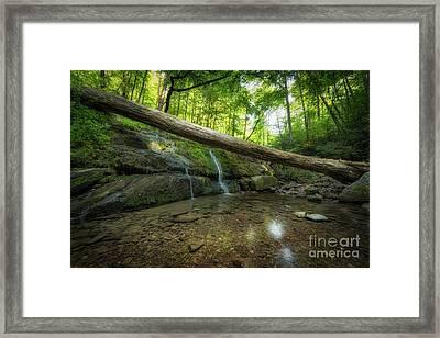 Dunnfield Creek  Framed Print