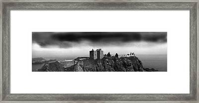Dunnottar Castle Scotland Framed Print by Donald Buchanan