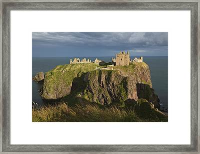 Dunnottar Castle, South Of Stonehaven Framed Print by Carl Bruemmer