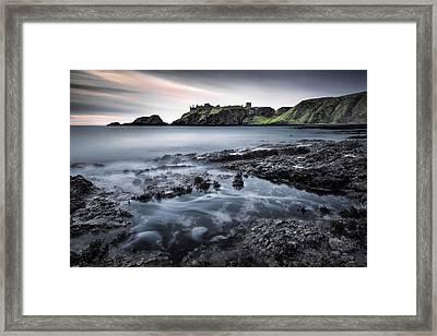 Dunnottar Dawn Framed Print by Dave Bowman