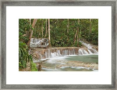 Dunn's River Falls - Another View Framed Print