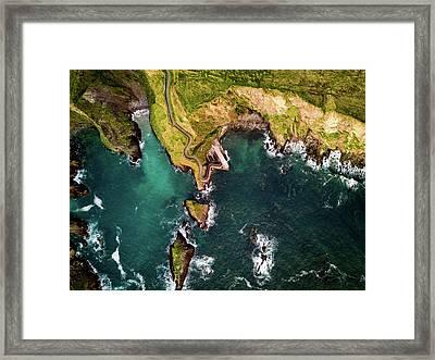 Dunquin Pier Framed Print
