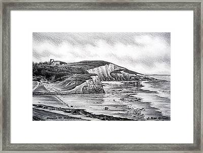 Dunraven Bay Framed Print