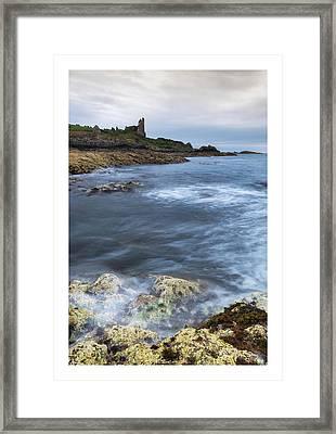 Dunure Castle Scotland  Framed Print