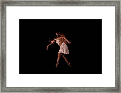 Duo In The Black Box Framed Print