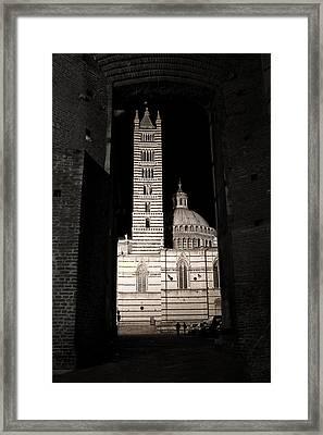 Duomo Di Siena Framed Print by Carl Jackson