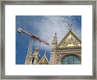 Duomo Di Siena Framed Print by Victoria Lakes