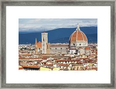 Duomo- Florence, Italy Framed Print by Jovanovic Dragan