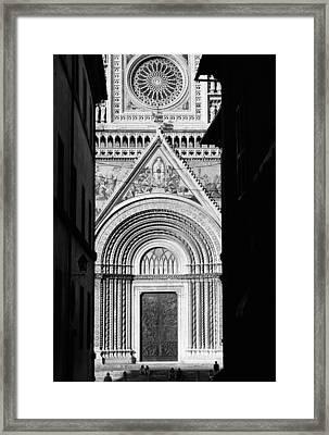 Duomo I Framed Print by Artecco Fine Art Photography