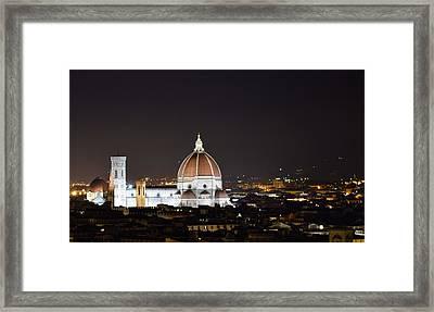 Duomo Illuminated Framed Print